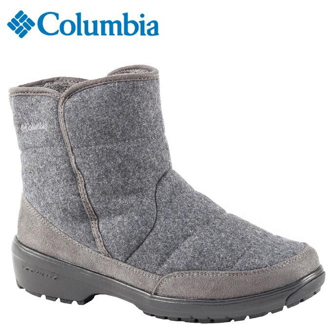 コロンビア Columbia スノーブーツ・冬靴 レディース イルリサット ショートウォータプルーフオムニヒート YL3889-030