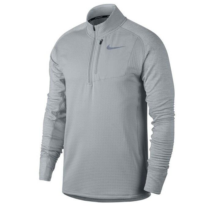 ナイキ 機能Tシャツ 長袖 メンズ THERMA スフィア エレメント ハーフジップ トップ 857830-012 NIKE
