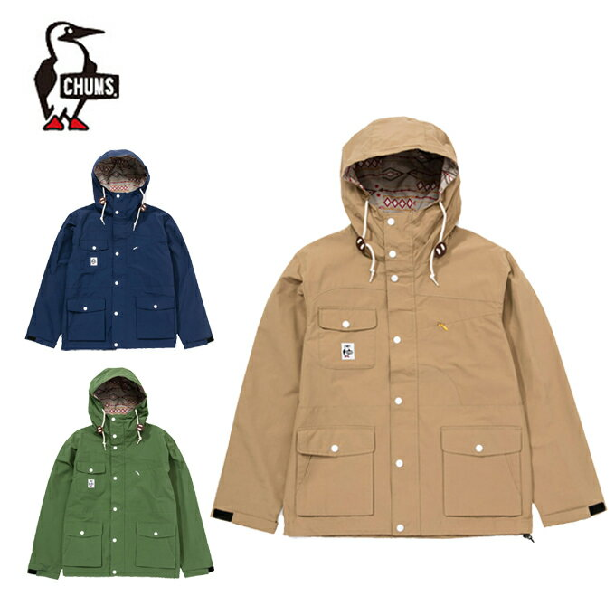 チャムス CHUMS アウトドア ジャケット メンズ Booby Face Mountain Jacket 2 ブービーフェイスマウンテンジャケット2 CH04-1076