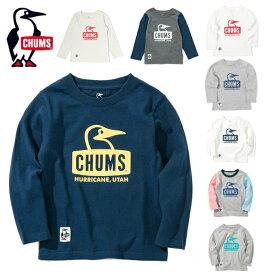 チャムス CHUMS 長袖シャツ ジュニア Booby Face L/S T-shirt ブービーフェイス CH21-1043