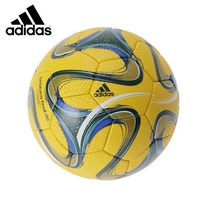 アディダス サッカーボール 4号 検定球 ジュニア ブラズーカファイナルリオ 4号球 AF4855YG adidas