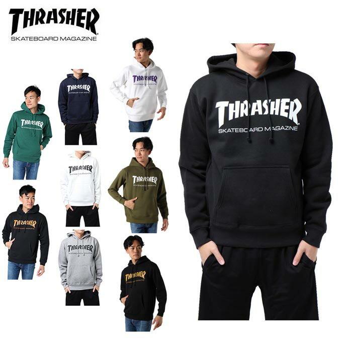 THRASHER スラッシャー パーカー メンズ MAG HOODIE マグ フーディー TH8501
