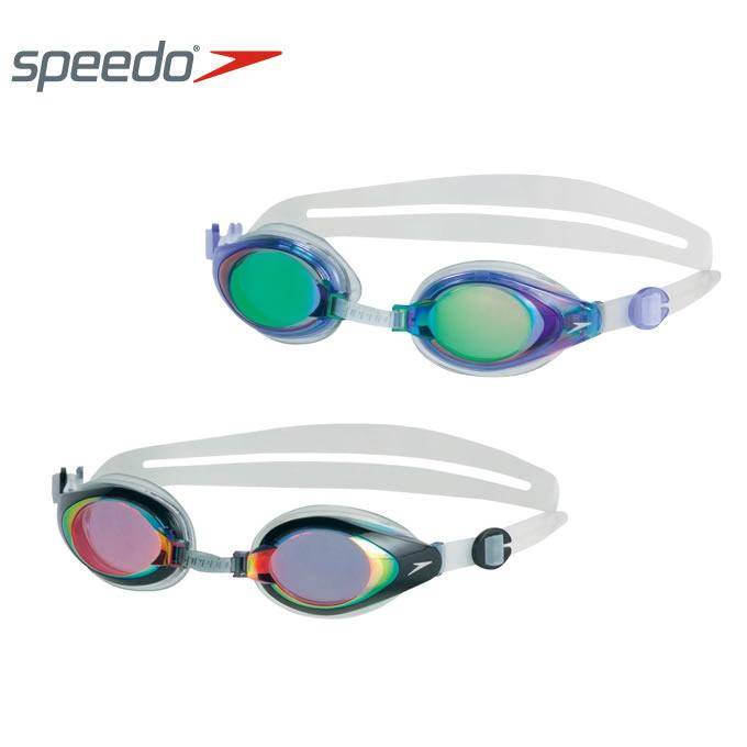 スピード speedo スイミングゴーグル メンズ レディース マリナーミラー ユニセックス フィットネス用 SD93G05A