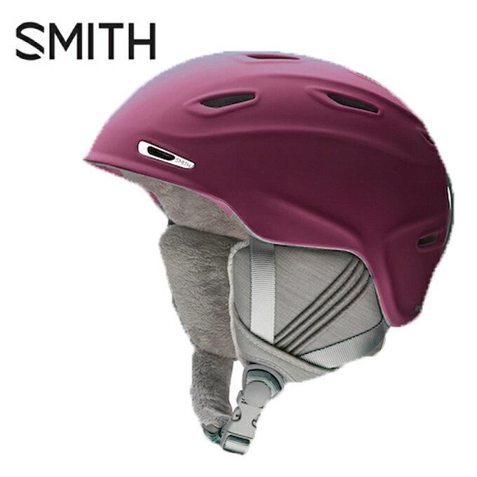 スミス SMITH スキー・スノーボードヘルメット レディース アライバル マット グレープ Arrival Matte Grape