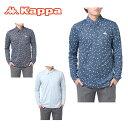 カッパゴルフ KAPPA GOLF ゴルフウェア ポロシャツ メンズ ハニカム柄長袖シャツ KG752LS93S