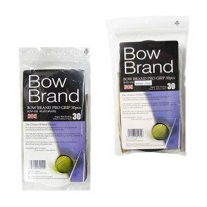 ボウ テニス バドミントン グリップテープ ウェットタイプ 30本入り ウェットタイプ プログリップ BOW030 BOW