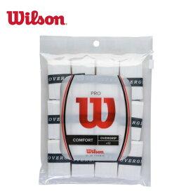 【エントリーで5倍 8/10〜8/11まで】 ウィルソン テニス グリップテープ ウェットタイプ 12本入り プロオーバーグリップ PRO OVERGRIP 12Pk WRZ4022 Wilson