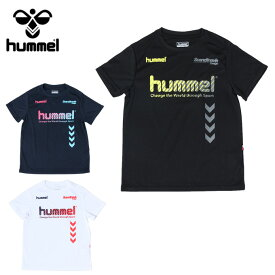 ヒュンメル hummel サッカーウェア 半袖シャツ ジュニア プラクティス HJP4124HM