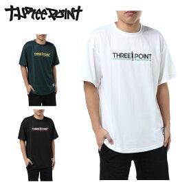 バスケットボールウェア 半袖シャツ メンズ 半袖プリントTシャツ TP570413H03 スリーポイント ThreePoint 3PT