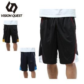 バスケットボール パンツ メンズ バスケット切替パンツ VQ570406H02 VISION QUEST ビジョンクエスト
