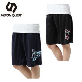 バスケットボール パンツ レディース バスケプリントパンツ VQ570406H03 VISION QUEST ビジョンクエスト