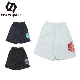 バスケットボール パンツ ジュニア バスケプリントパンツ VQ570406H04 ビジョンクエスト VISION QUEST