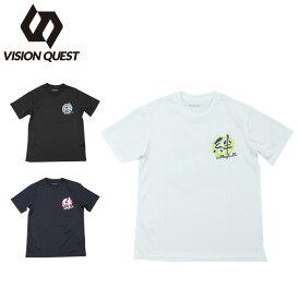 ビジョンクエスト VISION QUEST バレーボールウェア 半袖シャツ ジュニア 半袖バレー文字Tシャツ VQ570513H06
