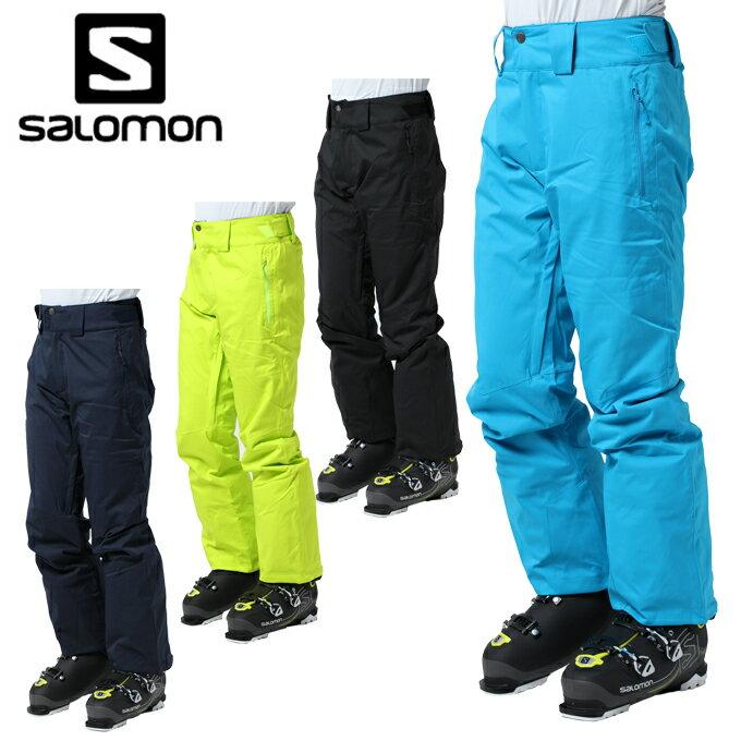 【クーポン利用で1000円引 11/18 23:59まで】 サロモン salomon スキーウェア パンツ メンズ JP STORMRACE PANT M JP STORMRACE PT M