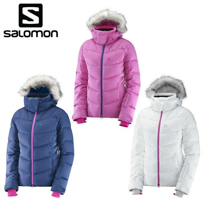 サロモン salomon スキーウェア ジャケット レディース ICETOWN JKT W アイスタウンジャケット S-ICETOWN JK W
