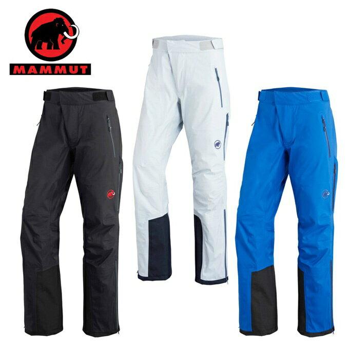 マムート スキーウェア パンツ メンズ SNOWSHOWER Pants スノーシャワーパンツ 1020-12220 MAMMUT