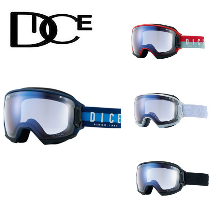 ダイス スキー スノーボード ゴーグル メンズ レディース ハイローラー HIGHROLLER-U/LPICEd-PAF HRS1741650 DICE スキーゴーグル ボードゴーグル