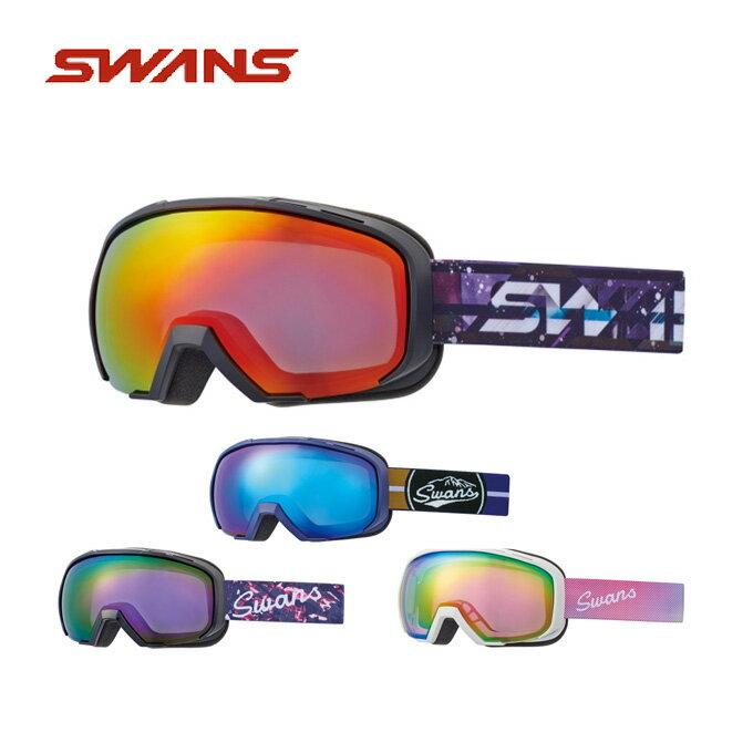 スワンズ スキー スノーボード メンズ レディース スノーゴーグル 眼鏡対応 080-MDHS-PAF SWANS スキーゴーグル ボードゴーグル