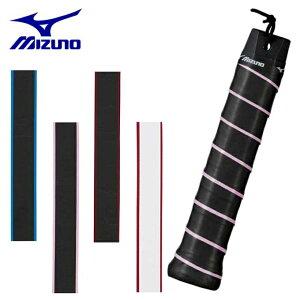 ミズノ テニス バドミントン グリップテープ ウェットタイプ ストライププリント 63JYA841 MIZUNO