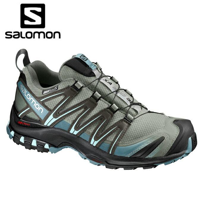 サロモン salomon トレッキングシューズ ローカット レディース XA PRO 3D CS WP L39333500