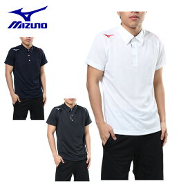 ミズノ ポロシャツ 半袖 メンズ 機能ポロシャツ 32JA8079 MIZUNO