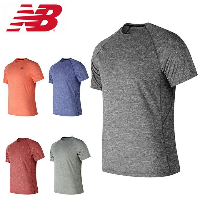 ニューバランス スポーツウェア 半袖 メンズ テナシティショートスリーブTシャツ AMT81095 new balance