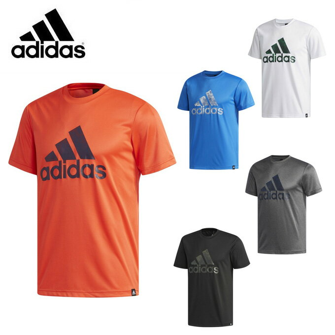 【店内全品ポイント5倍以上 9/20 0:00〜9/20 23:59】 アディダス スポーツウェア半袖 メンズ ESSENTIALS Badge of Sport グラフィック Tシャツ ETZ86 adidas