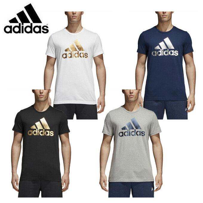 【店内全品ポイント5倍以上 9/20 0:00〜9/20 23:59】 アディダス Tシャツ 半袖 メンズ BADGE OF SPORTS FOIL Tシャツ ELG82 adidas