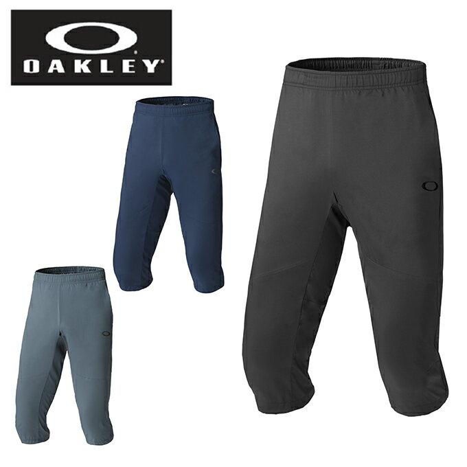 オークリー 7分丈パンツ メンズ ENHANCE DOUBLE CLOTH 3/4 PANTS.QD 8.0 エンハンスダブルクロス3/4パンツ 422435JP OAKLEY