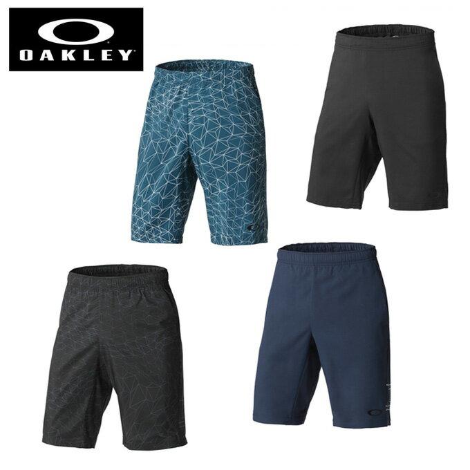 オークリー ハーフパンツ メンズ ENHANCE DOUBLE CLOTH OKL SHORTS.QD 8.0 エンハンスダブルクロス 442444JP OAKLEY