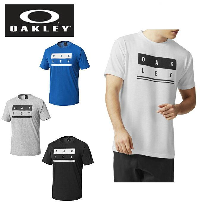 オークリー スポーツウェア 半袖 メンズ ENHANCE TECHNICAL QD TEE.18.02 エンハンステクニカル 457167JP OAKLEY