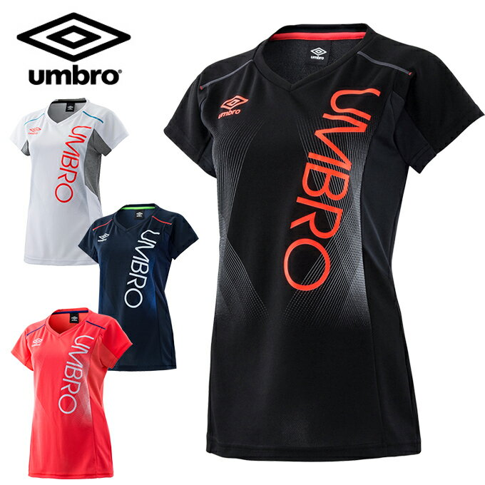 アンブロ UMBRO Tシャツ 半袖 レディース 半袖機能Tシャツ 汗染み防止 UMWLJA63