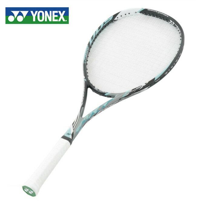 ヨネックス ソフトテニスラケット オールラウンド 張り上げ済み マッスルパワー500XF MP500XFHG-526 YONEX
