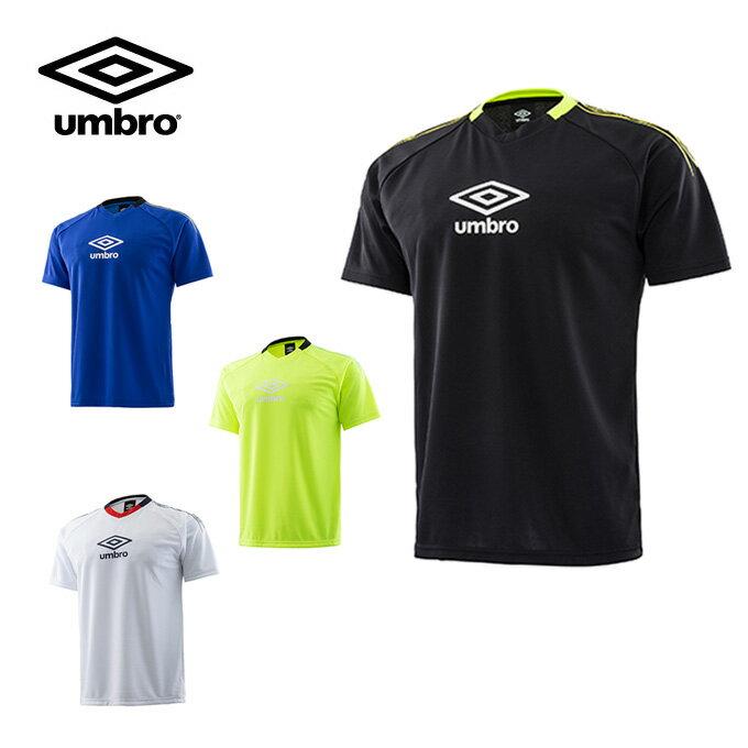 アンブロ UMBRO サッカーウェア 半袖シャツ Jr TR ロゴプラシャツ ジュニア UUJLJA59