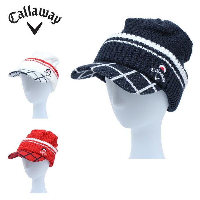 キャロウェイ Callaway ゴルフ ニット帽 メンズ 差込ニットキャップ 241-7284522