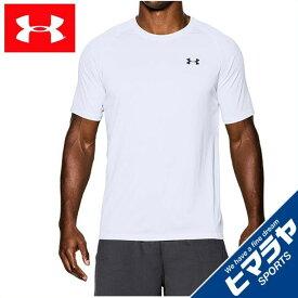 アンダーアーマー シャツ 半袖 メンズ テックTシャツ トレーニング Tシャツ MEN 1228539-100 UNDER ARMOURT