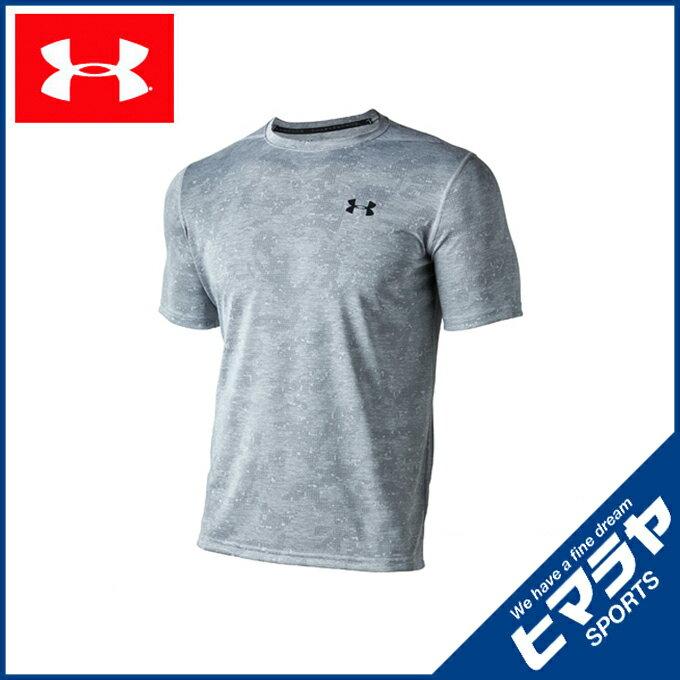 アンダーアーマー スポーツウェア 半袖 メンズ サイロプリント トレーニング Tシャツ 1310291-941 UNDER ARMOUR