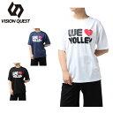 ビジョンクエスト VISION QUEST バレーボールウェア 半袖シャツ レディース 半袖バレープリントT シャツ VQ570513H04