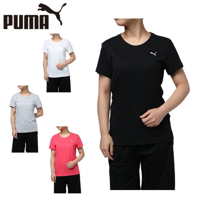 プーマ Tシャツ 半袖 レディース エッセンシャル SS 851251 PUMA