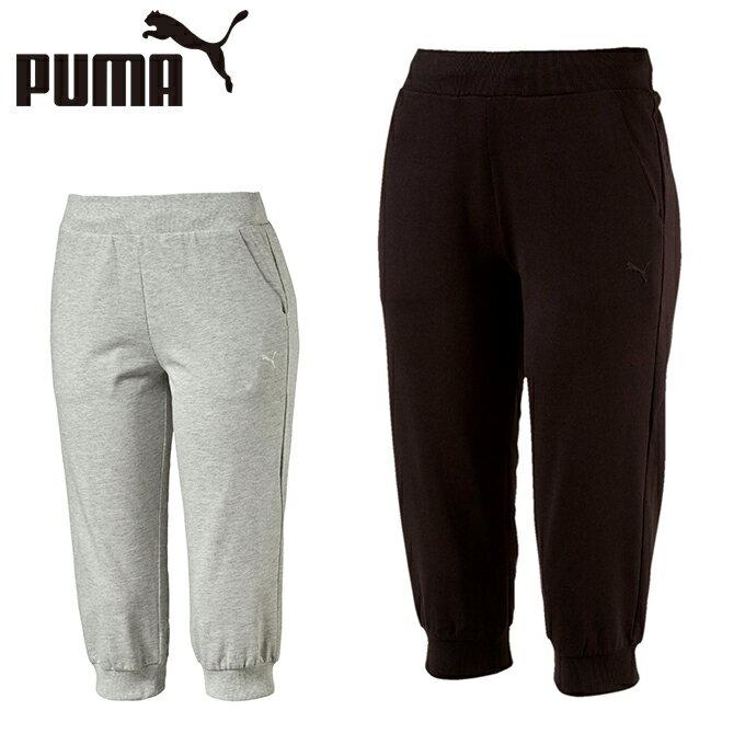 プーマ カプリパンツ レディース 3/4スウェットパンツ 593009 PUMA