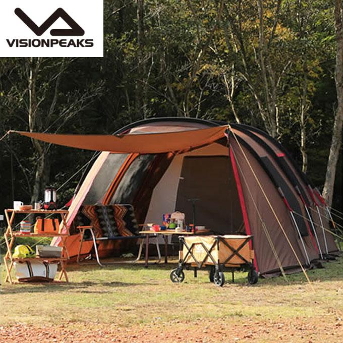 ビジョンピークス VISIONPEAKS テント 大型テント クワトロアーチ2ルームテント VP160101H01