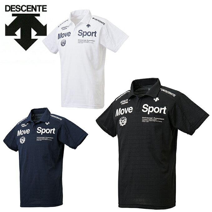 デサント DESCENTE ポロシャツ 半袖 メンズ BRZ+TOUGH Tスキッパーポロ DMMLJA78