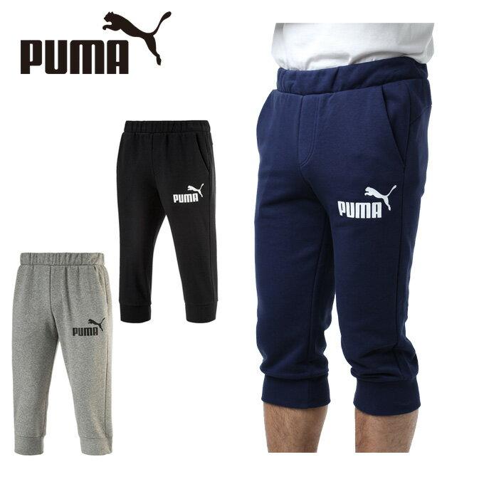 プーマ 7分丈パンツ メンズ スウェット3/4パンツ 593025 PUMA