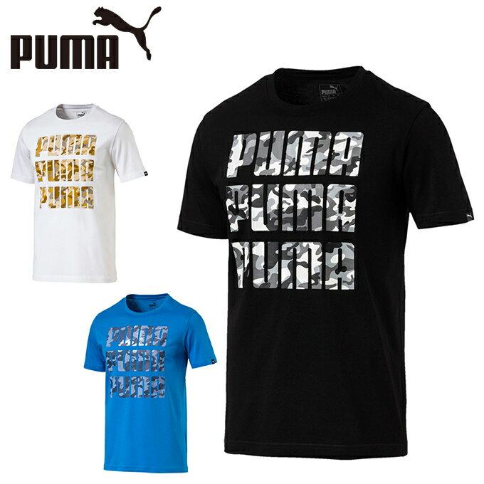 プーマ Tシャツ 半袖 メンズ カモロゴTシャツ 594877 PUMA