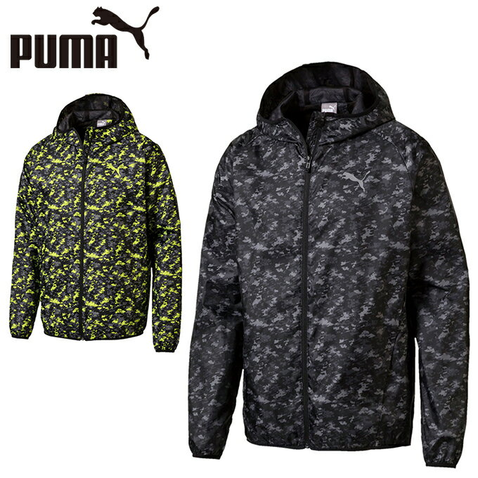 プーマ PUMA ウインドブレーカー ジャケット メンズ AOP WBKジャケット 裏メッシュ 852268