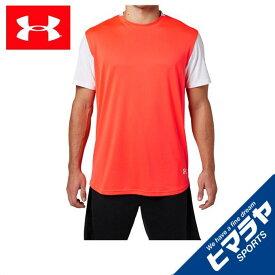 アンダーアーマー 野球ウェア 半袖Tシャツ メンズ レイヤリングシャツ ベースボール Tシャツ MEN 1313388 985 UNDER ARMOUR