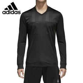 【サッカークーポン利用で10%OFF 12/13 10:00〜12/26 1:59】 アディダス adidas サッカーウェア メンズ レフリーウェア 2018 レフェリージャージー 長袖 CF6215 EBR16
