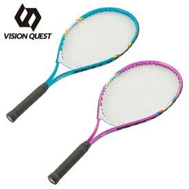 【基本送料無料 3/6 8:59まで】 ビジョンクエスト VISION QUEST ジュニア硬式テニスラケット 張り上げ済み ジュニア VQTJR25 ジュニア硬式ラケット 25in VQ530111H01
