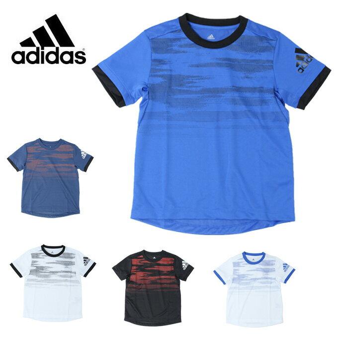アディダス Tシャツ 半袖 ジュニア B TRN CLIMACOOL グラフィック Tシャツ ETP15 adidas