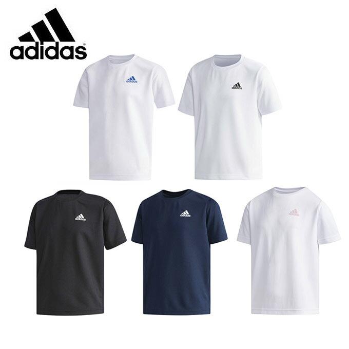 アディダス Tシャツ 半袖 ジュニア ESS パック入り 吸汗速乾Tシャツ EWQ16 adidas